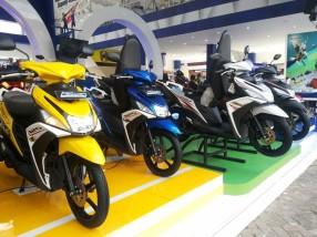 Deretan motor Yamaha Mio M3 & Mio Z