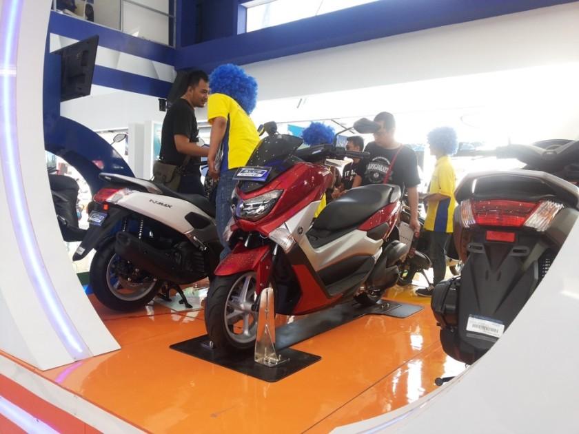 Deretan motor Yamaha Nmax