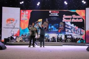 Yamaha Juara Umum Stand Terbaik di Jakarta Fair 2016