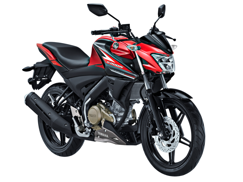 All New Vixion Red Black